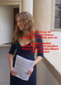 Anfisa Bobylova 3-3-2019