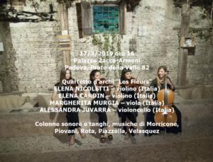 Les Fleurs Quartet 17-3-2019