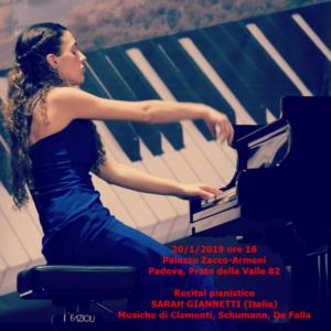 Sarah Giannetti 20-1-2019