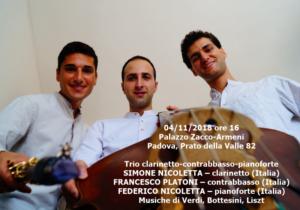 Trio Platoni-S. e F.Nicoletta 4-11-2018