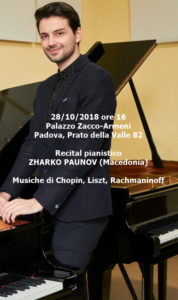 Zharko Paunov 28-10-2018