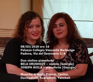 Duo Urushdze-Gelashvili, 8-3-2020