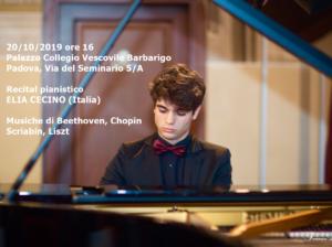 Elia Cecino, 20-10-2019