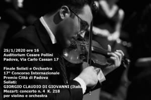 Giovanni Claudio Di Giorgio 2, 25-1-2020