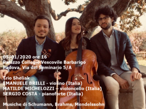 Trio Sheliak, 5-1-2020