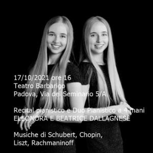 Eleonora e Beatrice Dallagnese, 17-10-2021 - txt