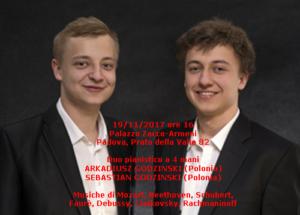 Godzinski Piano Duo 19-11-2017