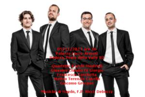 Quartetto Manfredi 5-11-2017